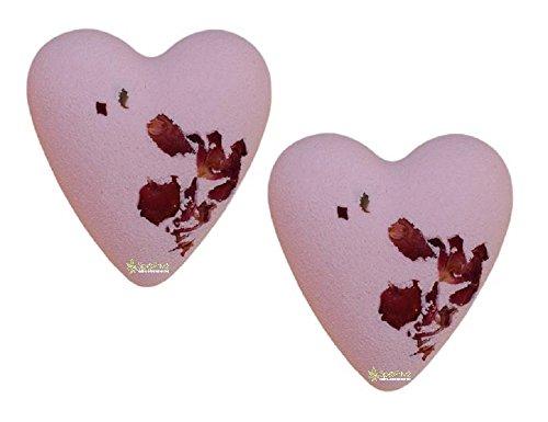 Bombe da bagno Cuori Rose Packaging: 2x70g