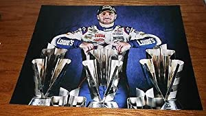 Autographed Jimmie Johnson Picture - NEW! 11X14 RACING CUP CHAMP COA b - Autographed... by Sports Memorabilia