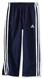 adidas Little Boys\' Revolution Basic Pant,Navy/White ,6