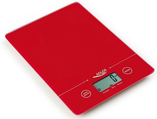 Adler Balance culinaire numérique fine, mesure au gramme près, charge maximale 5kg