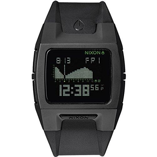 Nixon Lodown TI II A503001-00 - Orologio da polso unisex, cinturino in plastica colore nero