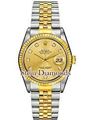 Stein Diamonds Rolex Oyster Perpertual Datejust 16233 CD