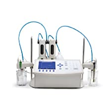 Hanna Instruments Potentiometric Titrator, 100 titration methods, Color LCD Screen and 115 VAC