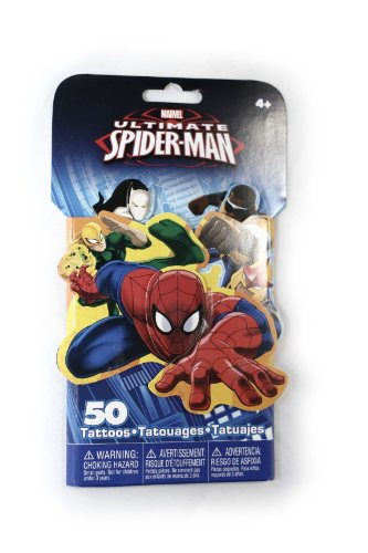 Spiderman Tattoo Pack