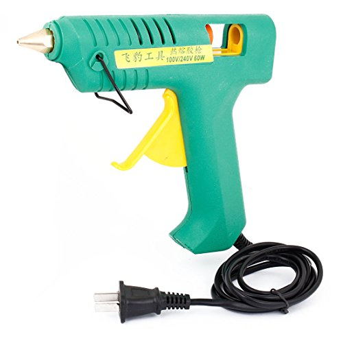 Us Plug Ac 100-240V 60W Heating Melt Electric Trigger Glue Gun Green