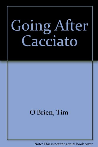 going after cacciato essay Tim obriens novel going after cacciato it is obvious throughout going after cacciato that water as a sign up to view the whole essay and download.
