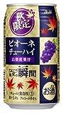 【2014年8月19日限定発売】アサヒ果実の瞬間 山梨産ピオーネ 350mlx24本(1ケース)【秋限定】