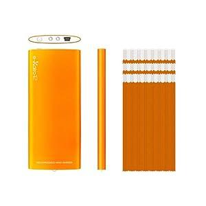 【クリックで詳細表示】e-kairoR イーカイロ アール オレンジ [ USB 充電式カイロ ]