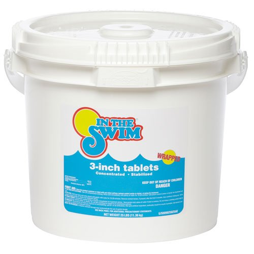 In The Swim 3 Inch Pool Chlorine Tablets 25 Lbs The Lawn Garden