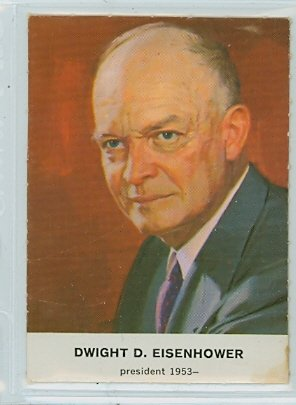 1960 Golden Press Presidents 33 Dwight Eisenhower Excellent to Mint at