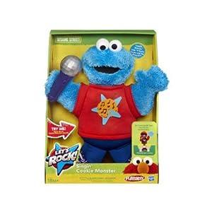 Hasbro - 37346 - Sesame Street - Let's Rock - Singin' Cookie Monster (Import Royaume Uni)