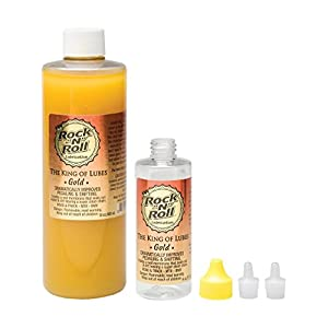 Rock N Roll Gold Chain Lubricant, 16-Ounce Complete Kit w/ 4oz Bottle & Applicator