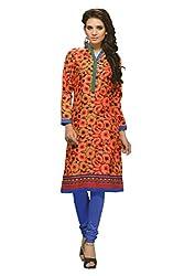 JCM Krishriyaa Women's Cotton Straight Kurti With L Size