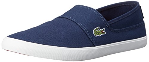 Lacoste Men's Marice LCR Spm Fashion Sneaker, Blue, 9 M US