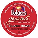 FOLGERS GOURMET SELECTIONS CLASSIC ROAST K CUP COFFEE 120 COUNT