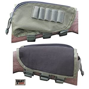 Buttstock Ammo Pouch, Black