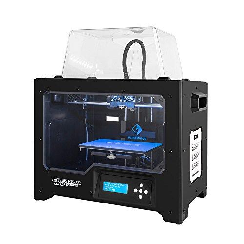 Flashforge-3D-Drucker-Creator-Pro-Dual-Extruder-Drucker-mit-optimierter-Krperbau-Plate-und-Upgraded-Spool-Halter