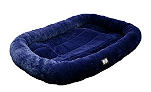 """Animal Planet Pet Bed, 40"""" x 26""""  inch, Navy"""