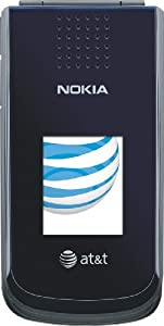 Nokia 2720 Phone, Navy Blue (AT&T)