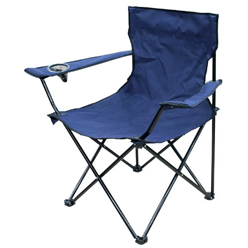 Outdoor Garden Camping Chair - Blue