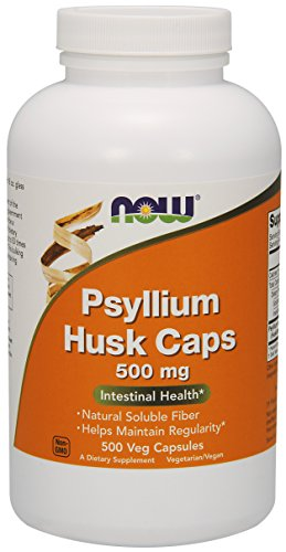 NOW Foods Psyllium Husk Caps -- 500 mg - 1000 Capsules ,NOW-ljyk (Now Psyllium Husk Caps compare prices)