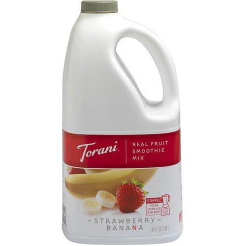 Torani® Real Fruit Smoothie Strawberry Banana Mix front-942355