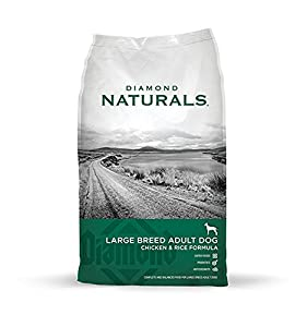 Diamond Naturals Dry Food for Adult Dogs, Large Breed 60+ Chicken Formula, 40 Pound Bag