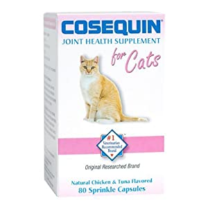 Nutramax Cosequin for Cats - 80 Sprinkle Capsules