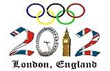 2012 LONDON OLYMPICS GAMES - 2 - FRIDGE MAGNET 70mm x 45mm - IDEAL GIFT