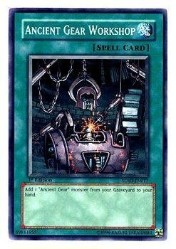 Ancient Gear Workshop - Machine Re-Volt Structure Deck - Common [Toy] [Toy] by Yu Gi Oh - Ancient Gear Workshop
