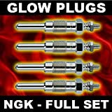 Heater Glow Plugs NGK Y-146R x4 - DAIHATSU FOURTRAK 2.8 84>on