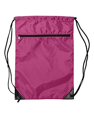 Bags for You - Pocket Liberty Bags Gymsack Sackpack for Sports Activity As Soccer Shoes Exercise Futsal Swimming Running Sqash Tennis Yoga Bikes or Backpack Relax on the Palm Beach color Pink