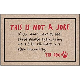 Not A Joke - Animal Doormat