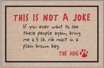 #!Cheap Not A Joke - Animal Doormat