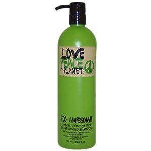 TIGI Love, Peace and The Planet Eco Awesome Shampoo, Cranberry Orange Mint, 25.3 Ounce