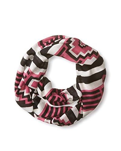 Theodora & Callum Women's Telluride Infinity Scarf, Pink Multi