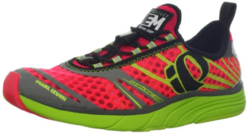Pearl iZUMi Women's W EM Tri N 2 Running Shoe,Electric Pink/Lime,9 M US