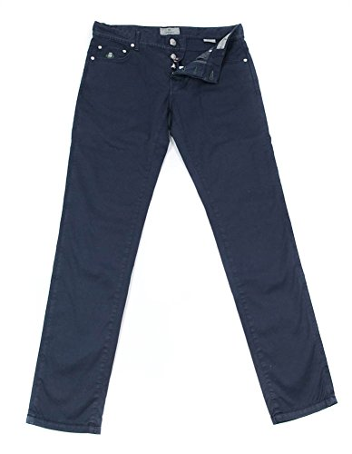 new-luigi-borrelli-navy-blue-solid-pants-super-slim-40-56