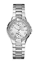 GUESS Analog Silver Dial Womens Watch - W12638L1