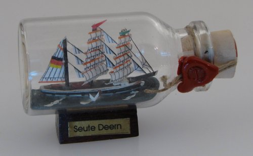 Seute Deern Mini Buddelschiff