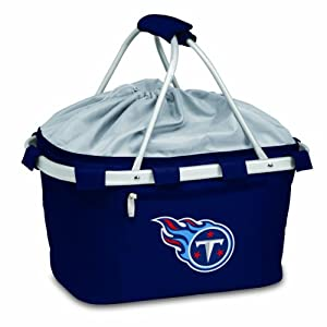 NFL Tennessee Titans Metro Insulated Basket, Navy by Picnic Time