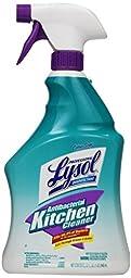 Lysol Professional Antibacterial Kitchen Cleaner, Citrus Scent, 32 oz