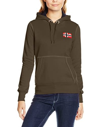 Geographical Norway Sudadera con Capucha Genifer Caqui