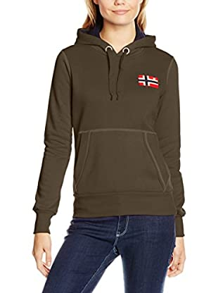 Geographical Norway Sudadera con Capucha Genifer (Caqui)