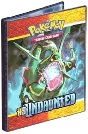 Trading Card Supplies - 4 POCKET PAGE PORTFOLIO  Pokemon - Undaunted