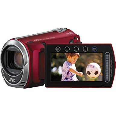 JVC Everio GZ-MS230 8GB Flash Memory Camcorder (Red)