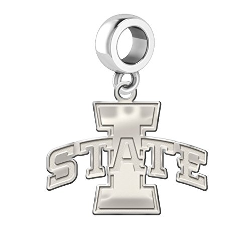Iowa State Cyclones Dangle Charm - 1/2