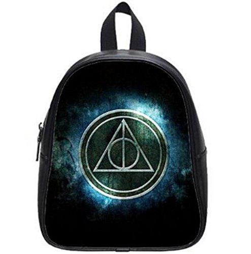 LilyFavor Harry Potter Printing Zaino Custom With Black School Borsa(Large)