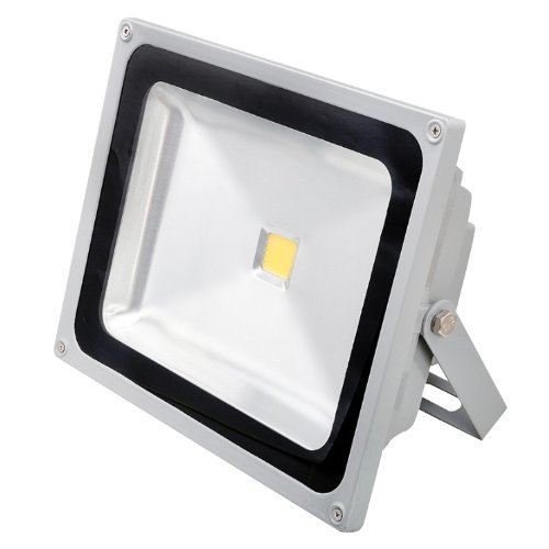 Generic 80W Ac 85~265V High-Brightness Led Flood Lamps For Tunnels Squares Size 12.6X4.7X10.4 Color Gray
