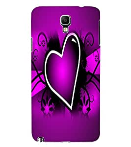 ColourCraft Lovely Heart Image Design Back Case Cover for SAMSUNG GALAXY NOTE 3 NEO N7505